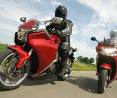 Pair of Motorbikes
