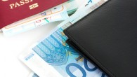 Passport And Euros For A Trip