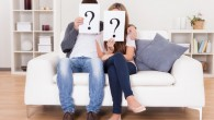 Couple with question mark
