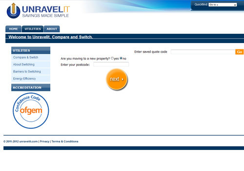 unravelIT website