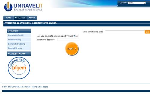 unravelIT website