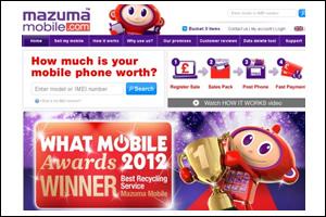 Mazumba Mobile Website