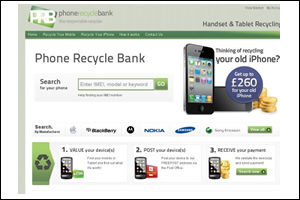 Phone Recycle Bank Website