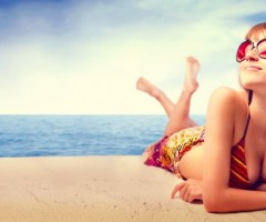 Summer Holiday Beach Girl