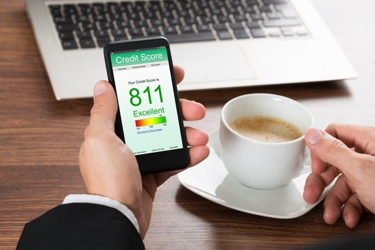 Credit Score on Mobile Phone