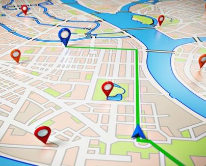 Vehicle Tracking Map