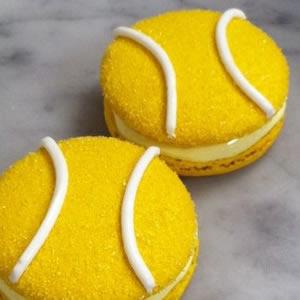 Tennis Ball Macaroons