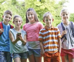 Children Geocaching