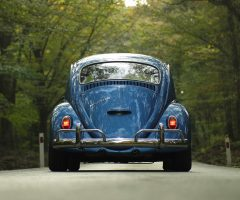 Blue VW Beetle
