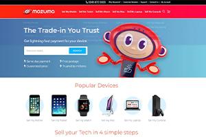 Mazuma Mobile Homepage